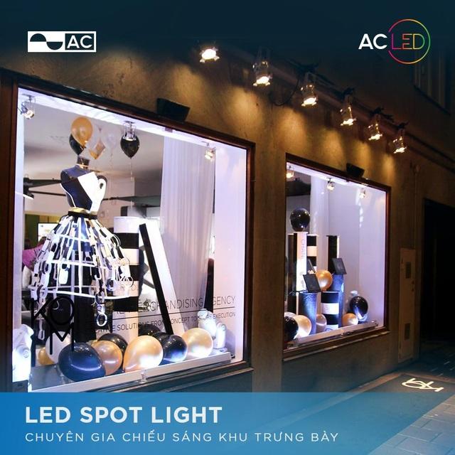 Giải pháp đèn Led – Lựa chọn tối ưu cho công trình hiện đại - Ảnh 1.