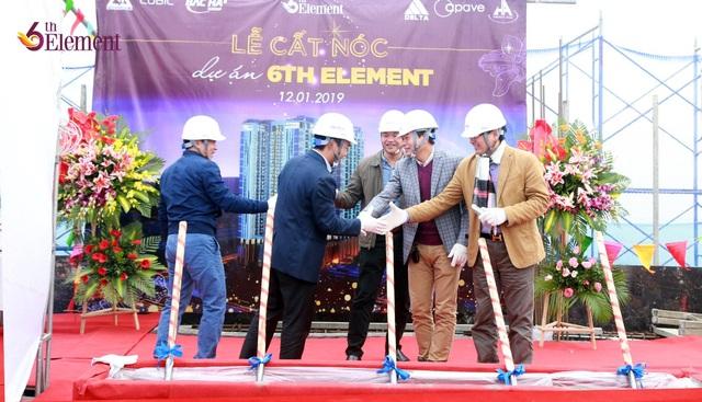 Cất nóc vượt tiến độ, 6th Element  khẳng định uy tín và tiềm lực của chủ đầu tư - Ảnh 1.