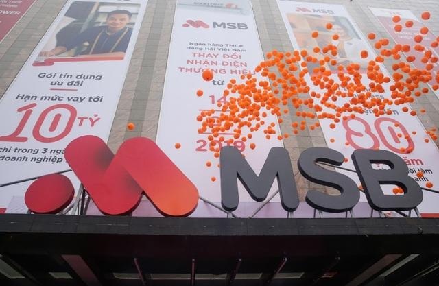 Tưng bừng ra mắt thương hiệu mới MSB, ngân hàng Hàng Hải tạo dấu ấn phát triển mới - Ảnh 4.