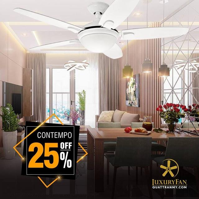 Nhận ngay ưu đãi lên tới 50% khi mua các sản phẩm quạt trần Mỹ tại Luxury Fan - Ảnh 3.