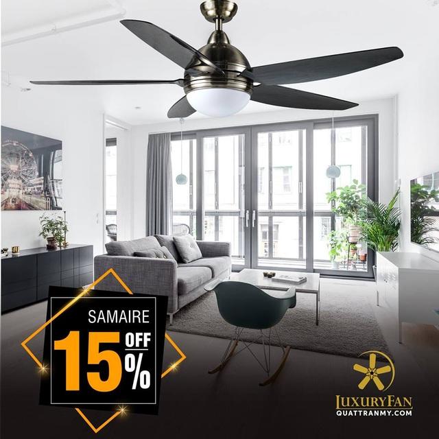 Nhận ngay ưu đãi lên tới 50% khi mua các sản phẩm quạt trần Mỹ tại Luxury Fan - Ảnh 6.