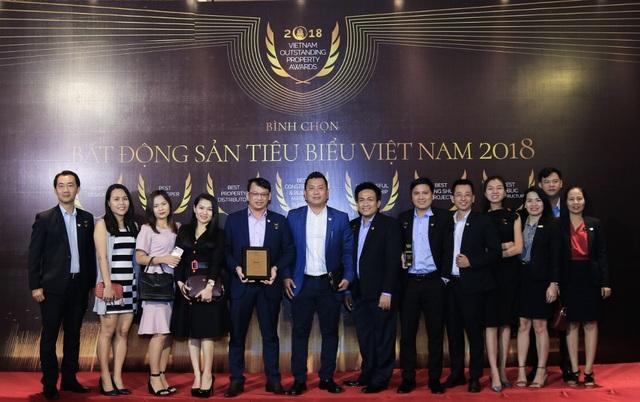 """DKRA Vietnam lần thứ hai liên tiếp được bình chọn là """"Nhà phân phối Bất động sản tiêu biểu"""" - Ảnh 4."""