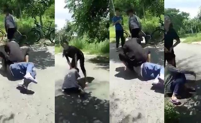 Hình ảnh em U. bị đánh dã man gây phẫn nộ trong dư luận