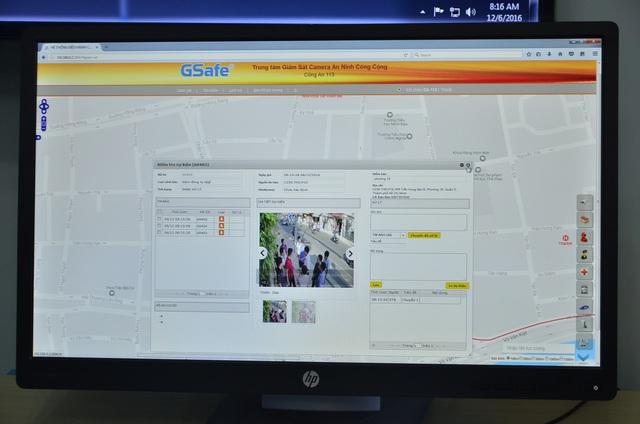 Những thông tin sau đó được chuyển về công an phường gần nhất và Cảnh sát 113 để phối hợp xử lý.