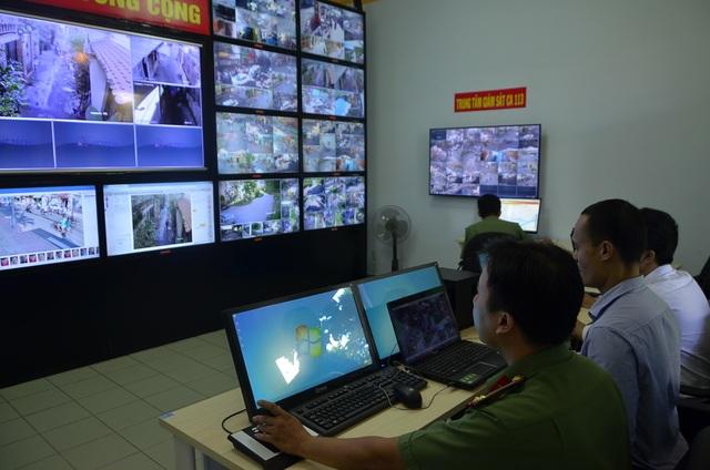 Theo đại diện UBND quận 5, đây là hệ thống vận hành camera hiện đại nhất TP được đưa vào hoạt động.