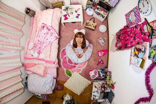 Phòng ngủ số 256 ở Tokyo - Nhật Bản