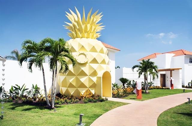 """Khách sạn hình quả dứa lấy cảm hứng từ bộ phim hoạt hình nổi tiếng """"Anh hùng bọt biển"""""""