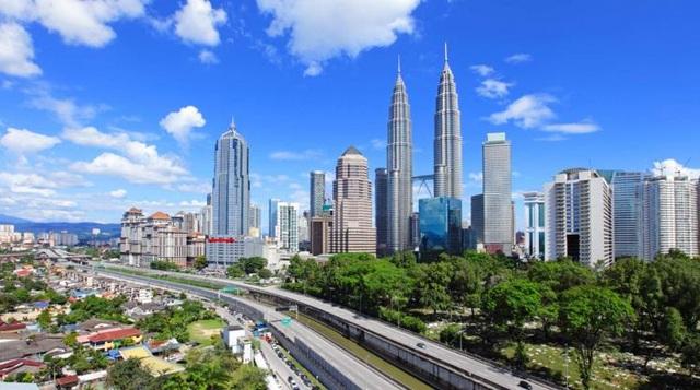 Thủ đô Kuala Lumpur của Malaysia cũng có mặt trong Top 10