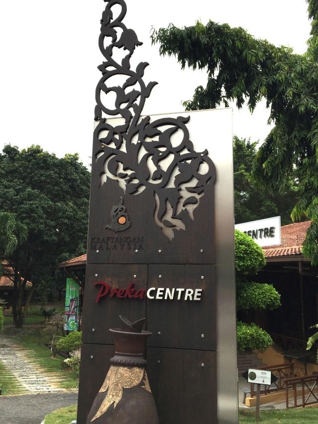 Trung tâm làng nghề truyền thống ở thủ đô Kuala Lumpur