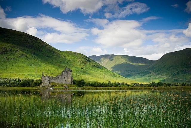 Lâu đài Kilchurn ở Scotland