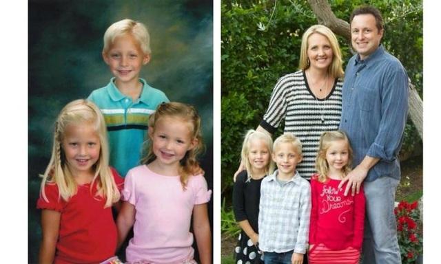 3 đứa trẻ có ngoại hình giống hệt các anh chị đã mất của mình