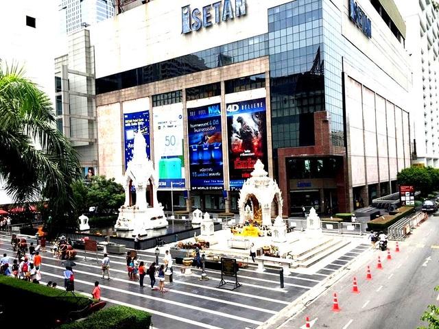 Bangkok có rất nhiều các trung tâm thương mại lớn