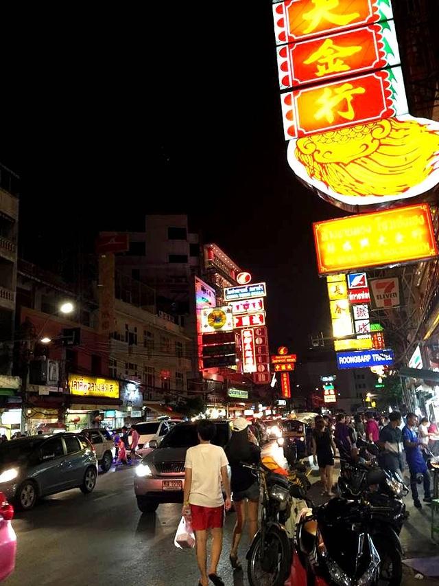 Khu phố Tàu Chinatown trong lòng Bangkok