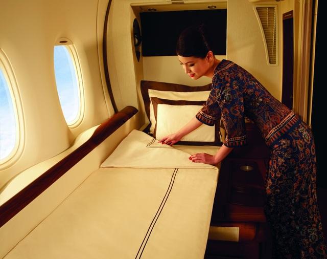 Hãng hàng không quốc gia Singapore nhiều năm liền liên tục có mặt trong danh sách các hãng tốt nhất thế giới