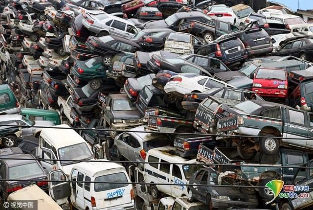 Số lượng xe bên trong gần 100.000 chiếc
