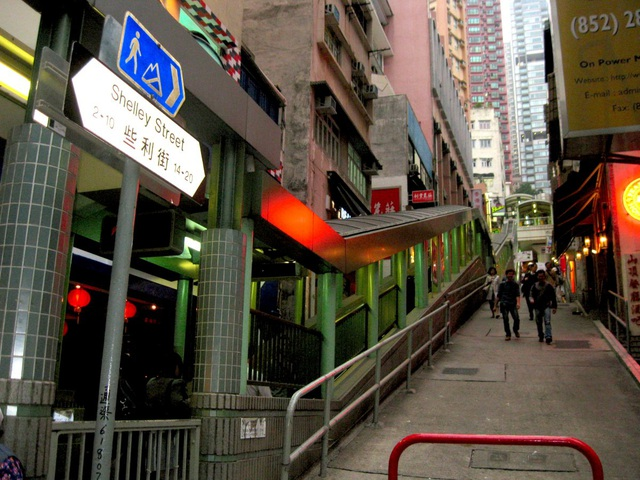 Độc đáo thang cuốn ngoài trời dài nhất thế giới ở Hong Kong - 4
