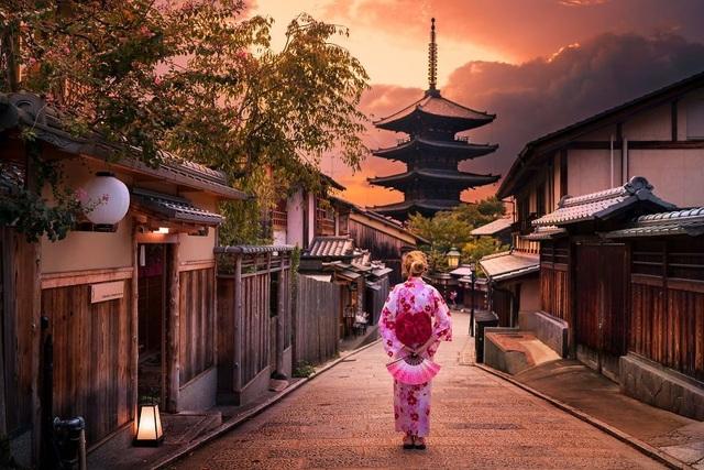 Cho dù phát triển đến đâu, người Nhật vẫn giữ được nét đẹp truyền thống của mình.