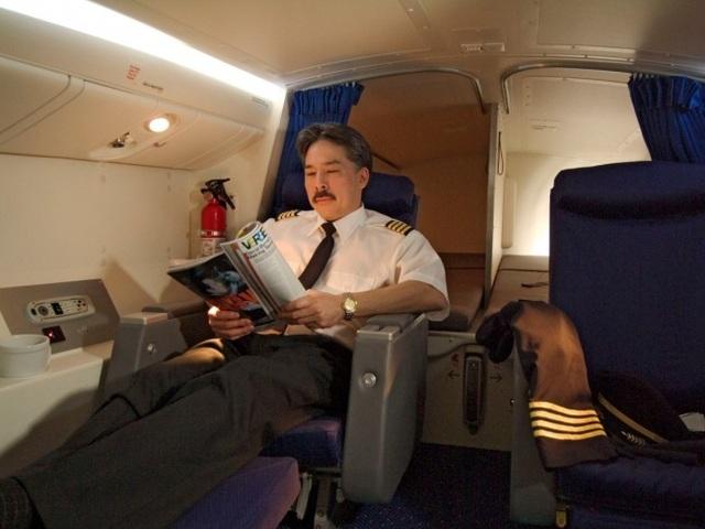 Nơi nghỉ ngơi dành cho phi công
