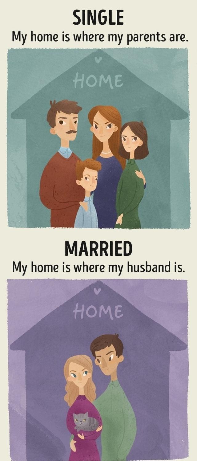 Sự khác biệt giữa cô nàng độc thân và bà mẹ bỉm sữa - 7