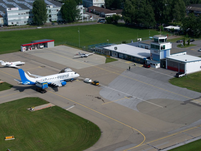 Sân bay quốc tế St. Gallen-Altenrhein ở Thụy Sỹ