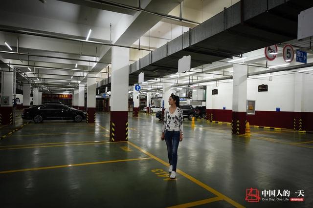 Hầm gửi xe cũng là nơi Cầm Mai dành nhiều quan tâm để nghiên cứu đánh giá