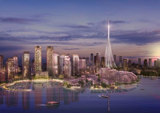 The Tower là tác phẩm của kiến trúc sư Tây Ban Nha – Thụy Sỹ nổi tiếng Santiago Calatrava thiết kế. Công trình dự kiến sẽ hoàn thành vào năm 2020.