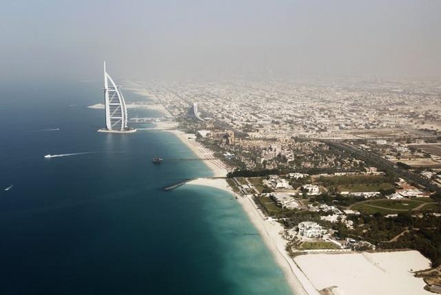 Khoảnh khắc hoành tráng đẹp khó tin của Dubai nhìn từ trên cao - 4