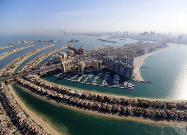 Khoảnh khắc hoành tráng đẹp khó tin của Dubai nhìn từ trên cao - 6