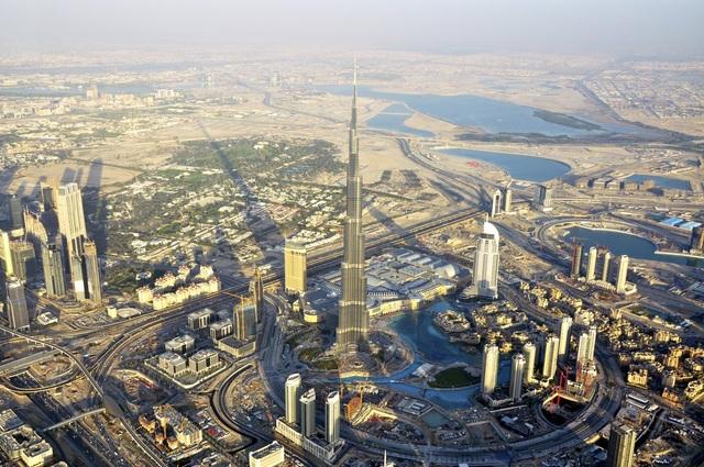 Khoảnh khắc hoành tráng đẹp khó tin của Dubai nhìn từ trên cao - 9