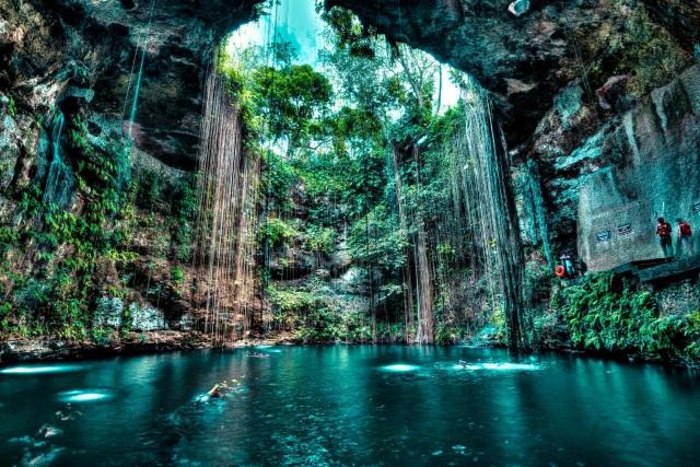 Thiên nhiên kỳ thú đẹp mê hồn ở Yucatan