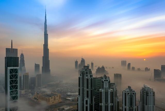 """Những tòa nhà chọc trời """"vượt mây"""" sừng sững giữa sa mạc - 1"""
