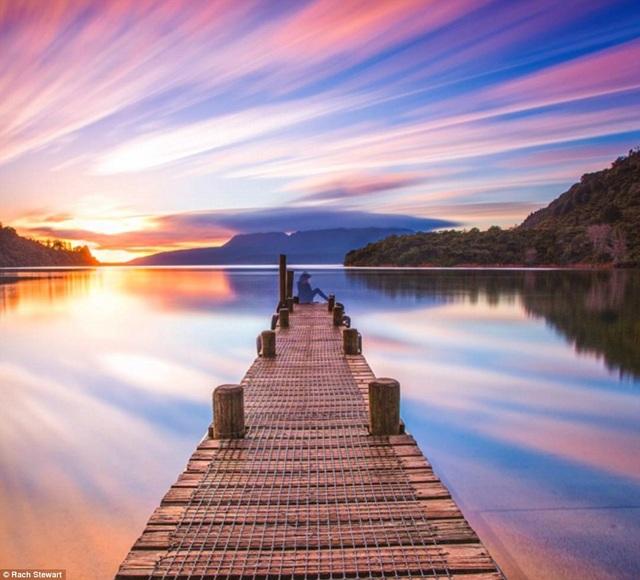 Vẻ đẹp tuyệt vời khó kìm lòng ở Rotorua thuộc đảo North.