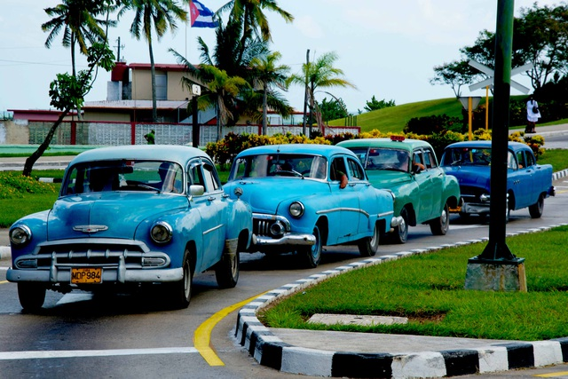 """Đường phố Cuba - """"bộ sưu tập"""" khổng lồ những cỗ xe cổ - 9"""