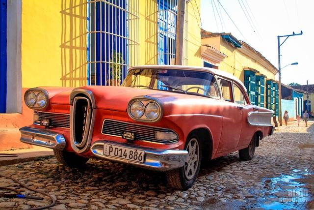 """Đường phố Cuba - """"bộ sưu tập"""" khổng lồ những cỗ xe cổ - 10"""