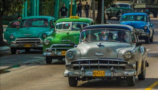 Nói Havana là bảo tàng xe cổ khổng lồ cũng không sai