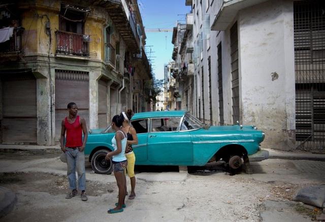 """Đường phố Cuba - """"bộ sưu tập"""" khổng lồ những cỗ xe cổ - 7"""