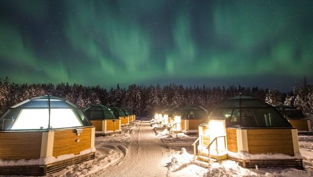 Chiêm ngưỡng vẻ kỳ ảo của ánh sáng Bắc cực quang