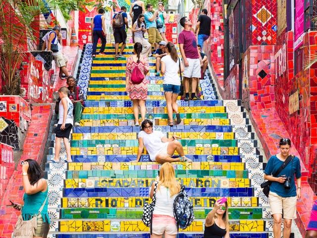 Thành phố biển sôi động Rio de Janeiro, Brazil