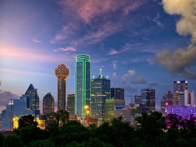 Dallas, thành phố lớn thứ 3 của tiểu bang Texas và lớn thứ 9 tại Mỹ.