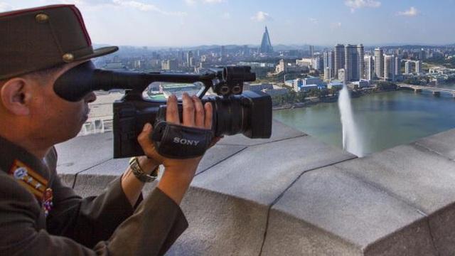 Một nhà quay phim người Triều Tiên