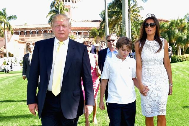 Gia đình tổng thống Mỹ Trump trong một kỳ nghỉ ở Mar-a-Lago