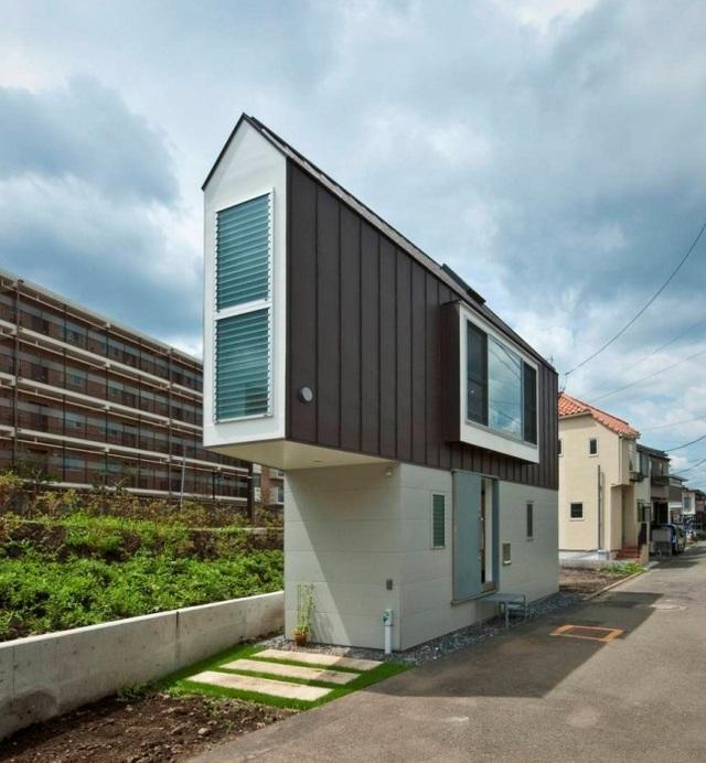 Do diện tích có hạn, căn nhà được thiết kế độc đáo hơn cả