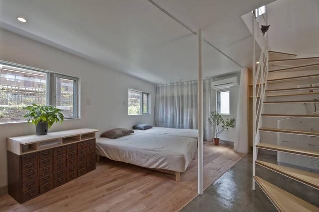 Phòng ngủ của gia chủ nằm ở tầng dưới
