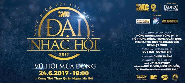 """Đăng Quang Watch nhà tài trợ đêm đại nhạc hội 2017 """"Vũ hội mùa đông"""" tại Hà Nội - 1"""