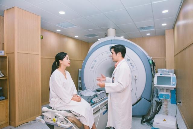 Phương pháp FUS MRI điều trị u xơ tử cung không cần phẫu thuật, bảo tồn thiên chức làm mẹ cho phụ nữ