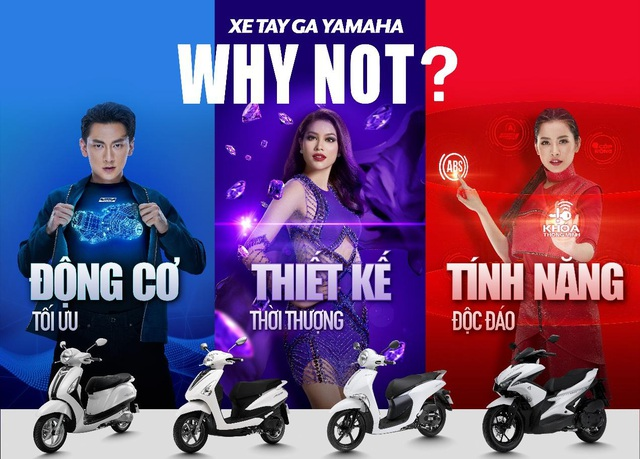 Chiến dịch Why Not? dành cho các dòng xe tay ga Blue Core thế hệ mới