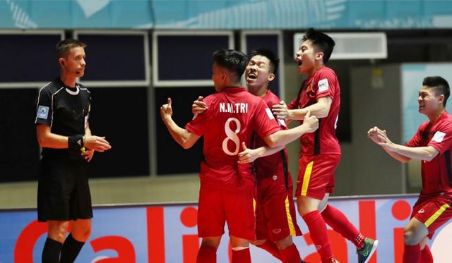 Đội tuyển futsal Việt Nam được FIFA khen ngợi