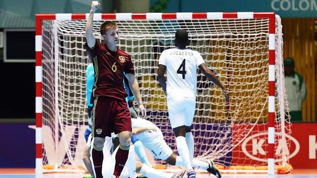 Chishkala (6) cho biết Nga sẽ đánh bại Việt Nam ở vòng 1/8 để hướng đến ngôi vô địch
