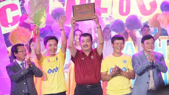 Thanh Hoá cũng là Hội CĐV tốt nhất mùa bóng 2016