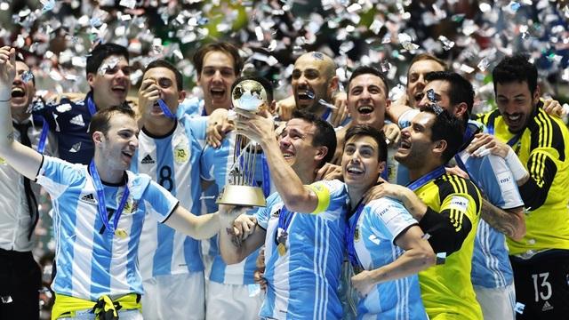 Argentina lần đầu tiên trở thành nhà vô địch futsal thế giới
